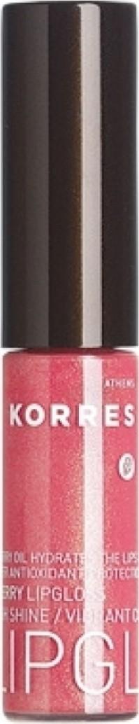 Korres Lip Gloss Με Έλαιο Από Κεράσι 22 Φυσικό Ροζ
