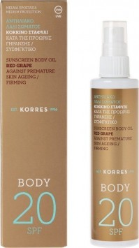 Korres Red Grape Spf20 Spray Body 100ML