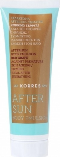 Korres Red Grape After Sun 125ML