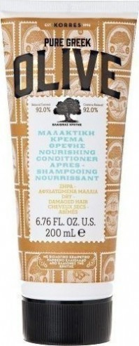 Korres Ελιά Κρέμα Μαλλιών Ενυδάτωσης 200ML