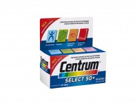 Centrum A-Zinc Select 50+ 60Tabs