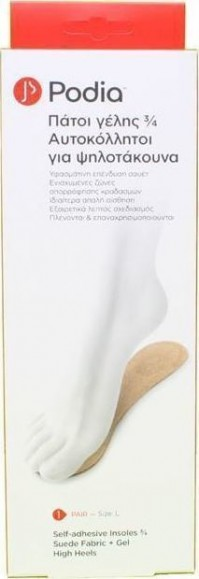Podia Insoles 3/4 High Heels Large