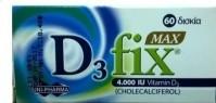 Uni-Pharma D3 Fix Max 4000 IU 60 Tabs