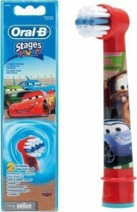 Oral-B Stages Power  Ανταλλακτικα Παιδικα Cars 2 Temaxia