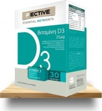 F Ective Vitamin D3 30 Lipidcaps