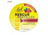 Dr.Bach Rescue Pastilles 50gr Με Γεύση  Κράνμπερι