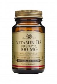 Solgar Vitamin B2 Riboflavin 100Mg 100 Veg.Caps