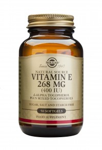 Solgar Vitamin E Natural 400Iu 50 Softgels