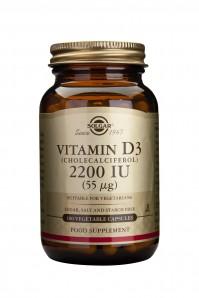 Solgar Vitamin D3 2200Iu 100 Veg.Caps