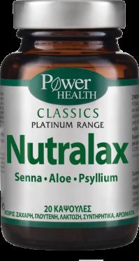 Power Health Classics Platinum - Nutralax 20 Caps