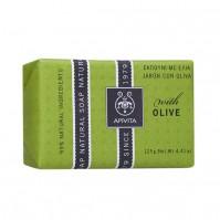 Apivita Φυσικό Σαπούνι Ελιά 125G