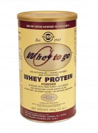 Solgar Whey To Go Protein 340Gr Βανίλια