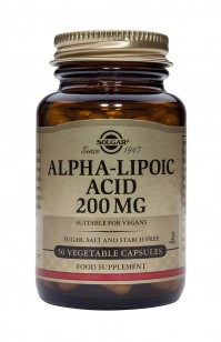 Solgar Alpha Lipoic Acid 200Mg Veg.Caps 50S
