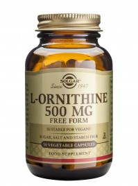 Solgar L-Ornithine 500Mg Veg.Caps 50S