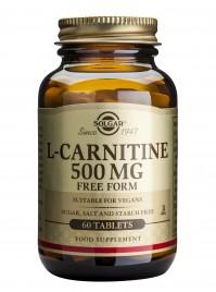 Solgar L-Carnitine 500Mg Tabs 60S