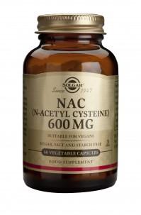 Solgar N-Acetyl-L-Cysteine (NAC) 600Mg Veg.Caps 60S