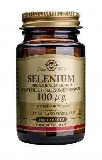 Solgar Selenium 100Mcg Tabs 100S