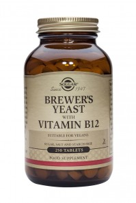 Solgar Brewer's Yeast With Vitamin B12 500Mg Tabs 250S