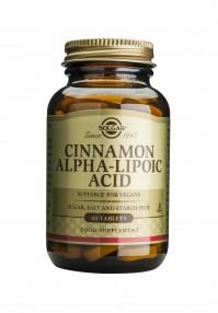 Solgar Cinnamon Alpha Lipoic Acid Tabs 60S