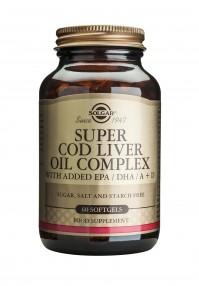 Solgar Super Cod Liver Oil Complex Softgels 60S
