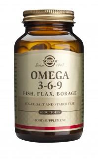 Solgar Omega 3-6-9 Softgels 60S