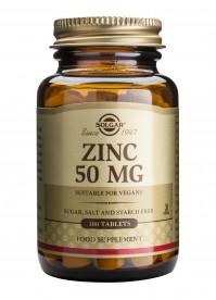 Solgar Zinc Gluconate 50Mg Tabs 100S