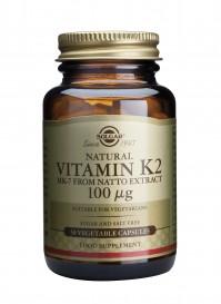 Solgar Vitamin K2 100 Mcg Veg.Caps 50S