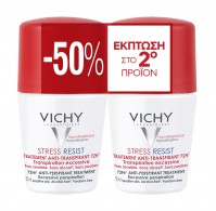 Vichy Deodorant  Roll-on Stress Resist 2Χ50Μl
