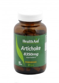 Health Aid Artichoke Extract 8350mg 60Tabs