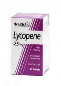 Health Aid Lycopene 25Mg 30Tabs