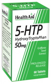 Health Aid L-5 Hydroxytryptophan 50Mg 60Tabs