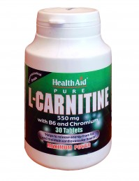 Health Aid L-Carnitine 550Mg 30Tabs