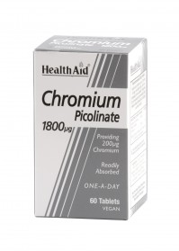 Health Aid Chromium Picolinate 1800Μg 60Tb