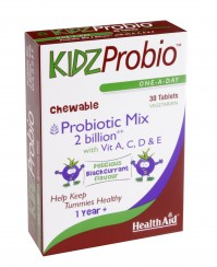 Health Aid Kidz Probio 30Tabs Chewable