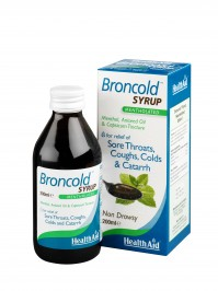 Health Aid Broncold Syrup 200 Ml