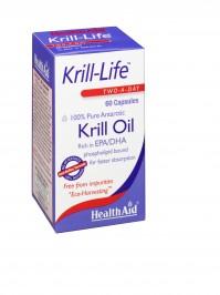 Health Aid Krill-Life -Krill Oil 500Mg  60Caps