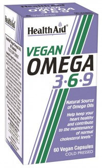 Health Aid Vegan Omega 3-6-9 60 Caps