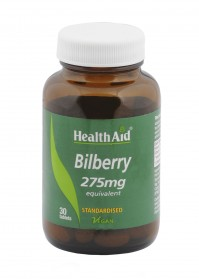 Health Aid Bilberry Berry Extract 210Mg 30Tabs