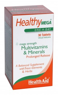 Health Aid Healthy Mega Multivitamin & Minerals 30 Tabs