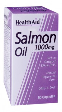 Health Aid Salmon Oil Concentrate 1000Mg 60Caps