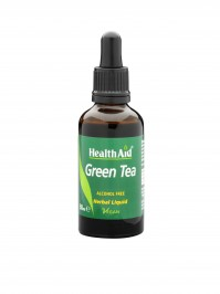 Health Aid Green Tea Liquid Alcohol Free 50Ml
