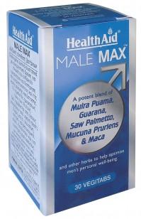 Health-Aid Male Max Vegetarian Tablets 30 S