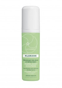 Klorane Αποσμητικό Spray 24ης Διάρκειας με Λευκή Αλθέα 125Ml