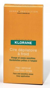 Klorane Cire Dep.Froid Vis Et Zones Sens 6Un