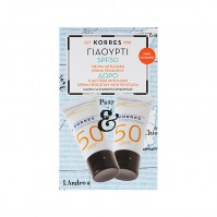 Korres Yoghurt Face Cream Spf 50 1+1 2X50Ml