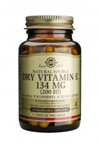 Solgar Vitamin E 200IU 50 Dry Caps