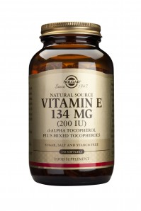 Solgar Vitamin E 200IU 250softgels