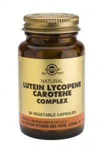 Solgar Lutein Lycopene Carotene Complex 30caps