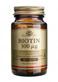 Solgar Biotin 300mg 100tabs