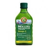 Mollers Μουρουνέλαιο με Φυσική Γεύση, 250ML
